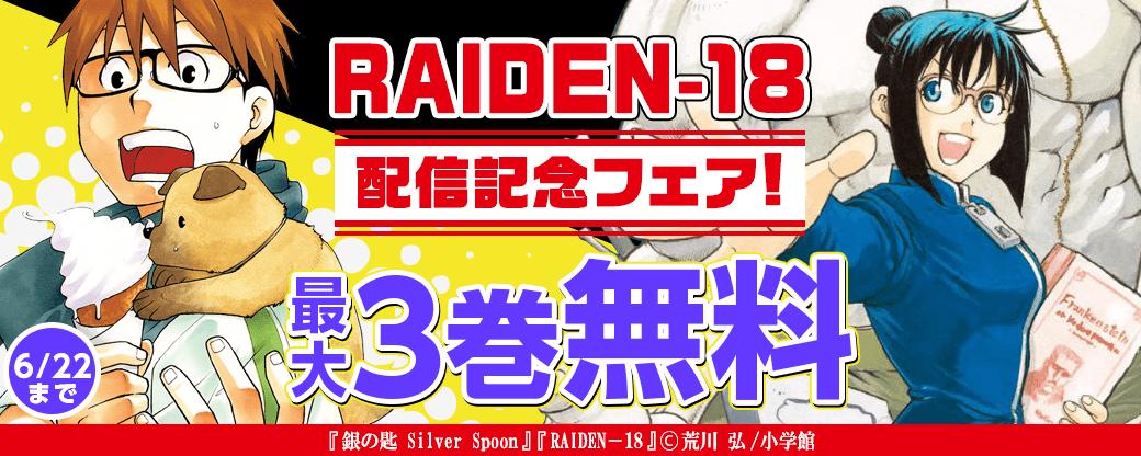 「RAIDEN-18」配信記念フェア!