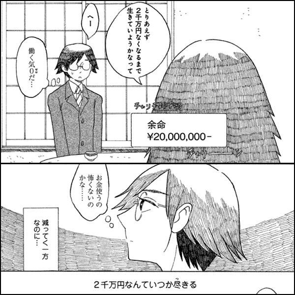 余命¥20,000,000-